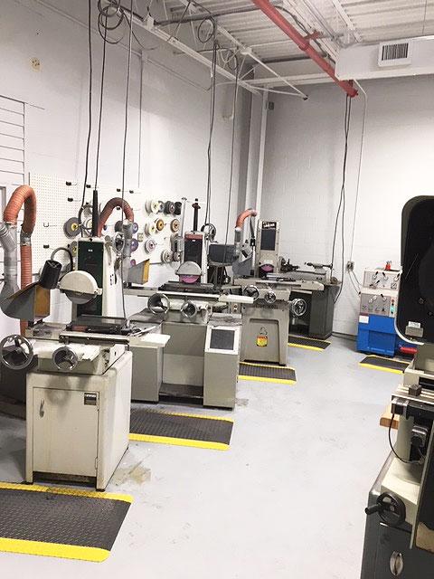 Fourslide's new tool room