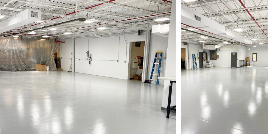 New space for our production department