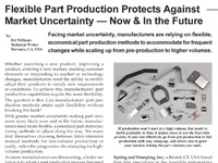 Flexible Part Production Protects Against Market Uncertainty ? Now & In the Future