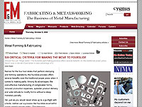 Fabricating & Metalworking Online