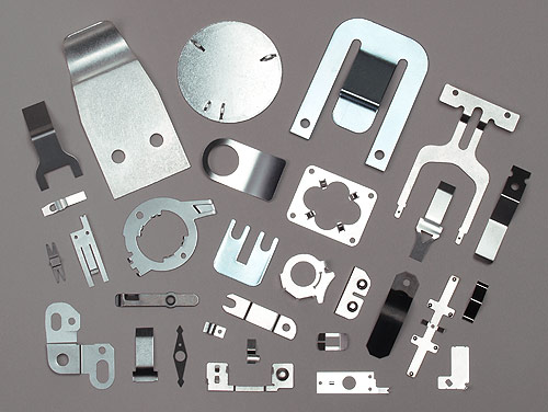 A sampling of parts that can be most economically produced by the Fourslide process.