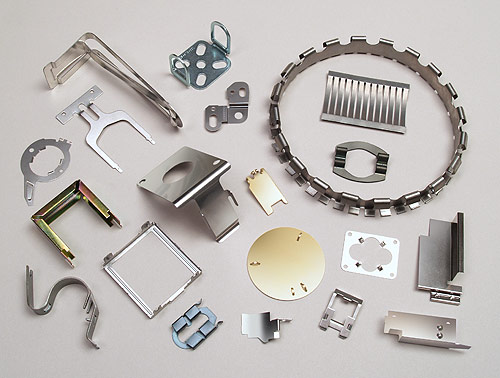 Fourslide-produced stampings.