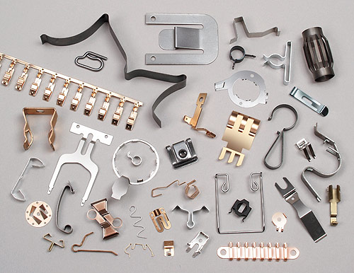Classic fourslide parts featuring multiple bends and complicated .