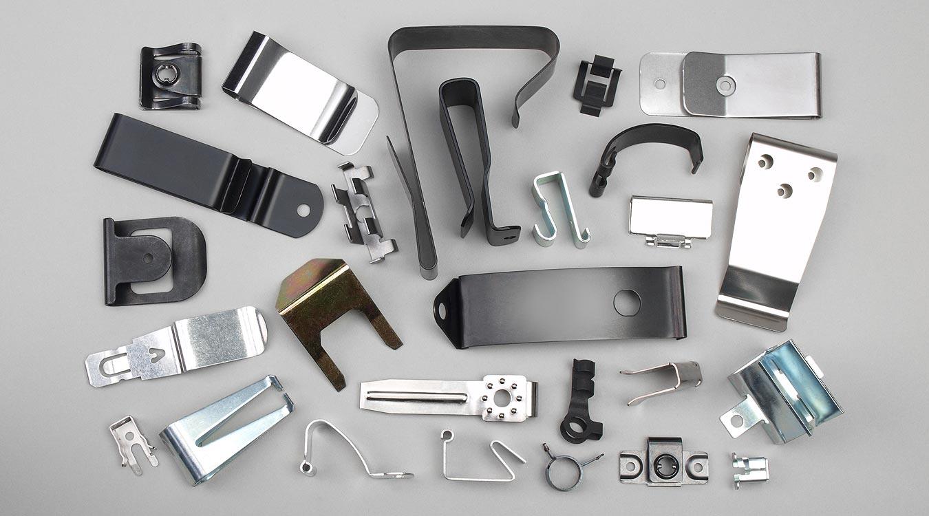 Metal Clips, Metal Spring Clips, Clip Manufacturer - Fourslide ...