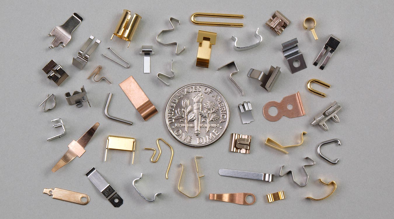 Small Parts, From Strip - Metal Clamps, Clasps