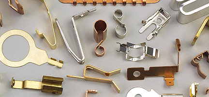 Electrical Contacts Fourslide Parts, Metal...