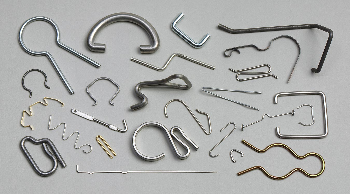 Wire Forms, All Shapes & Sizes, Ribbon Forms From Strip - Fourslide ...