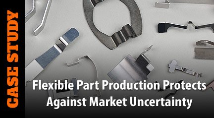 Case Study: Flexible Part Production Protects Against Market Uncertainty