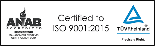 Fourslide is an ISO 9001:2015 certified manufacturer